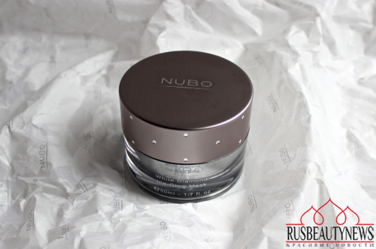 NuBo White Diamond Ice-Glow Mask look3