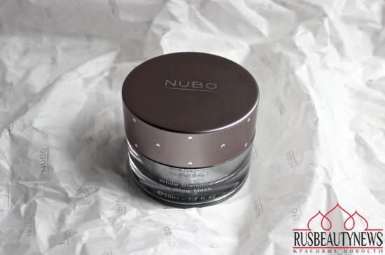 NuBo White Diamond Ice-Glow Mask look3