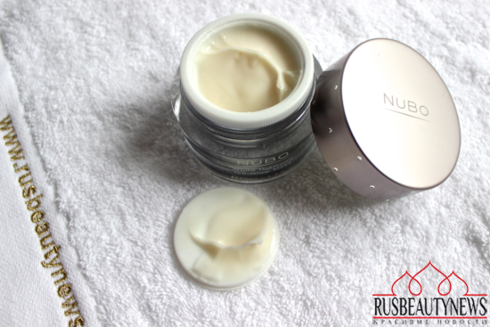 NuBo White Diamond Ice-Glow Mask look5