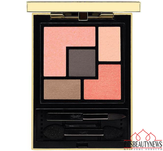 YSL Couture Palette and Touche Eclat Limited Edition for Spring 2015  look3