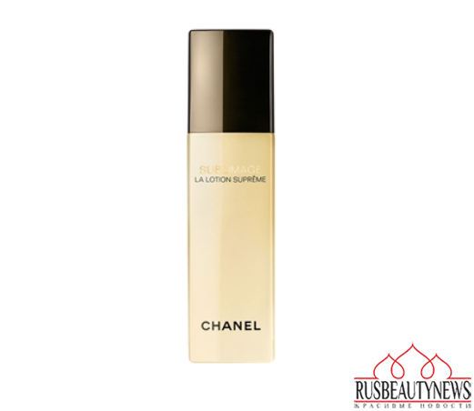 Chanel Sublimage lotion supreme look2