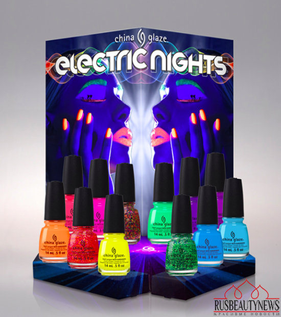 China Glaze Electric Nights Summer 2015 Collection