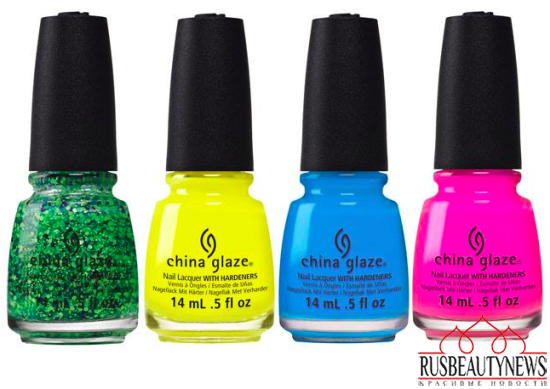 China Glaze Electric Nights Summer 2015 Collection color1