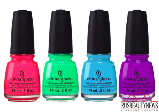 China Glaze Electric Nights Summer 2015 Collection color3