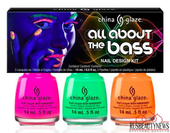 China Glaze Electric Nights Summer 2015 Collection set2