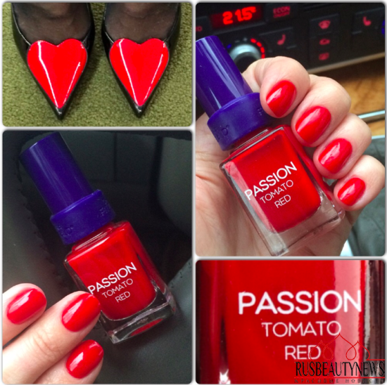 Christina Fitzgerald Passion Tomato Red