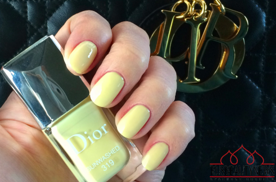 Dior Vernis 319 Sunwashed review sw