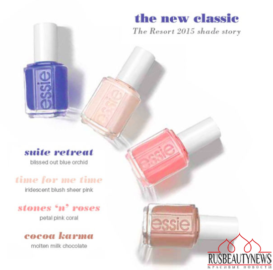 Essie Resort Spring 2015 Collection look2