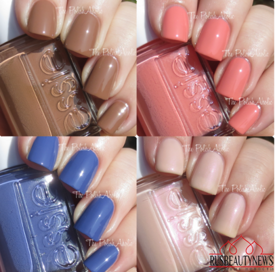 Essie Resort Spring 2015 Collection sw