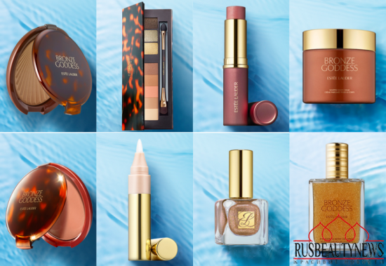 Estee Lauder Bronze Goddess 2015 Summer Collection look3