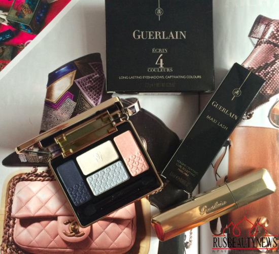 Guerlain Écrin 4 Couleurs Eyeshadows 18 Le Nuees look1