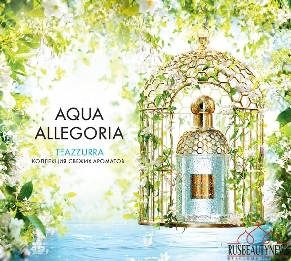 guerlain aqua allegoria teazzurra eau de toilette spray. Black Bedroom Furniture Sets. Home Design Ideas