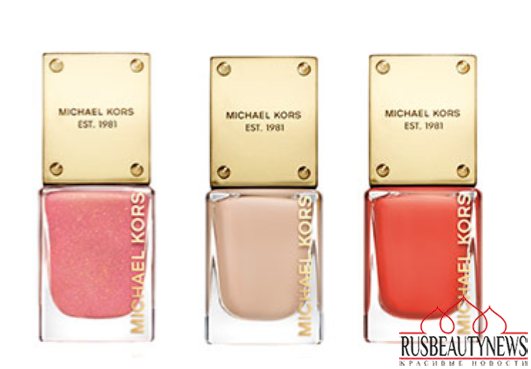 Michael Kors Into The Glow Summer 2015 Collection nail