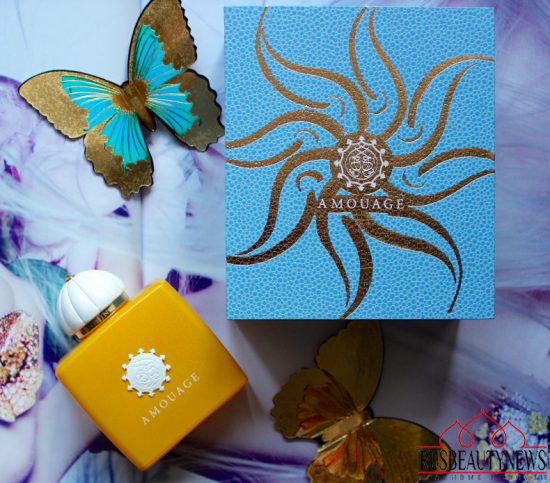 Amouage Sunshine look