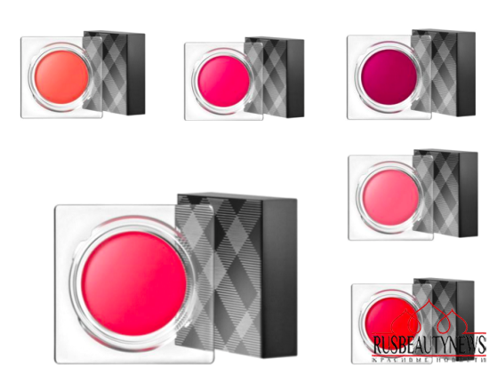 Burberry Lip & Cheek Bloom colors