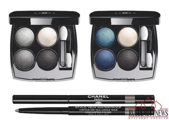 Chanel Blue Notes de Chanel 2015 Summer Collection 4eyeshadow