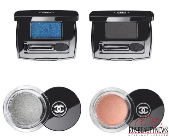 Chanel Blue Notes de Chanel 2015 Summer Collection eyeshadow