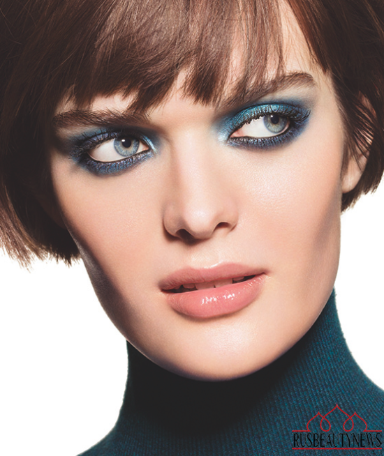 Chanel Blue Notes de Chanel 2015 Summer Collection look