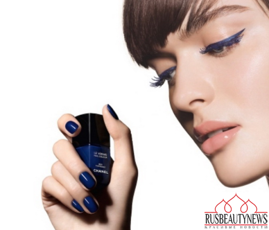Chanel Blue Notes de Chanel 2015 Summer Collection look3
