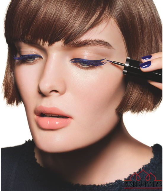 Chanel Blue Notes de Chanel 2015 Summer Collection look5