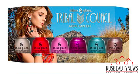 China Glaze Desert Escape Summer 2015 Collection set2
