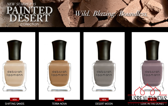 Deborah Lippmann Painted Desert Collection Summer 2015 coors