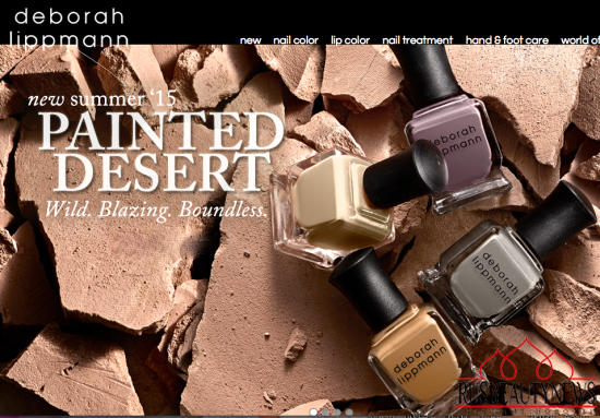 Deborah Lippmann Painted Desert Collection Summer 2015 look