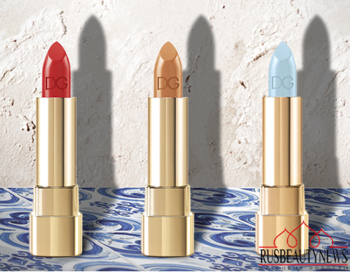 Dolce & Gabbana Summer Shine 2015 Collection lipp