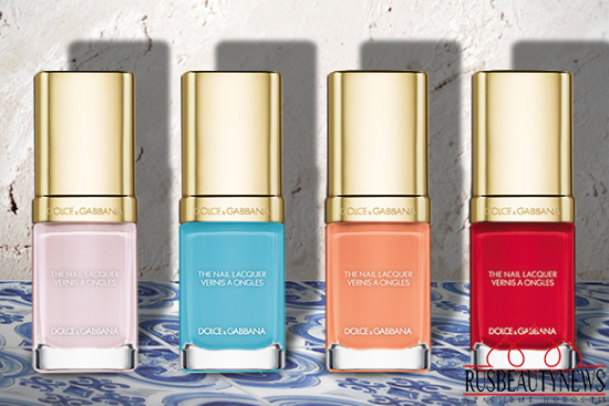 Dolce & Gabbana Summer Shine 2015 Collection nail