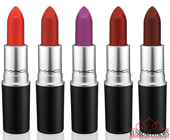 MAC The Matte Lip Collection for Summer 2015  color3