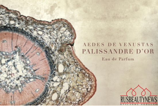 Aedes de Venustas PALISSANDRE D'OR look