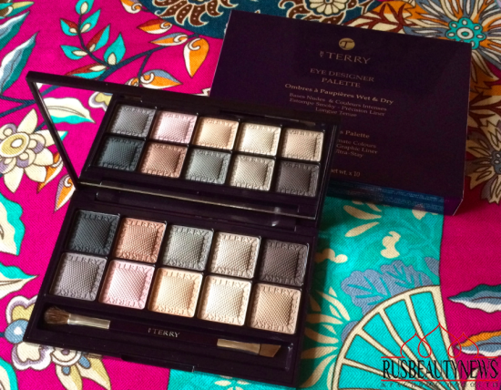 By Terry Eye Designer Palette 1 Smoky Nude Review