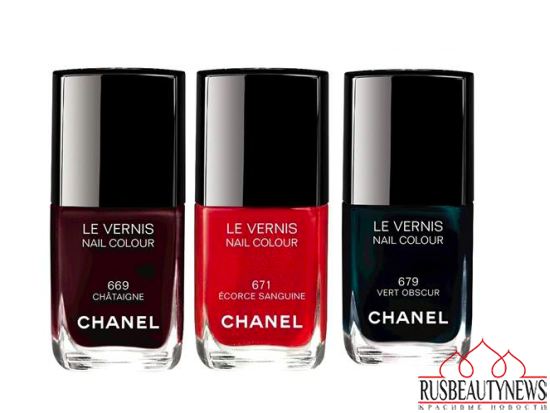 Chanel Les Automnales Fall 2015 Collection  nail