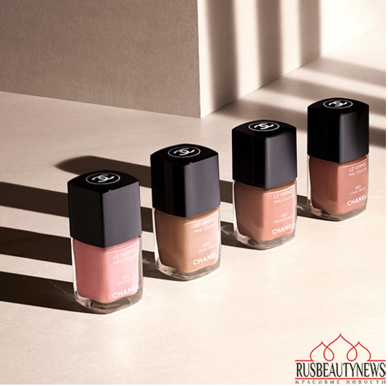 Chanel Les Beiges Summer 2015 Collection nail1