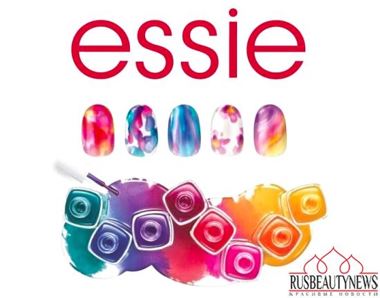 Essie Silk Watercolor Summer 2015 Collection