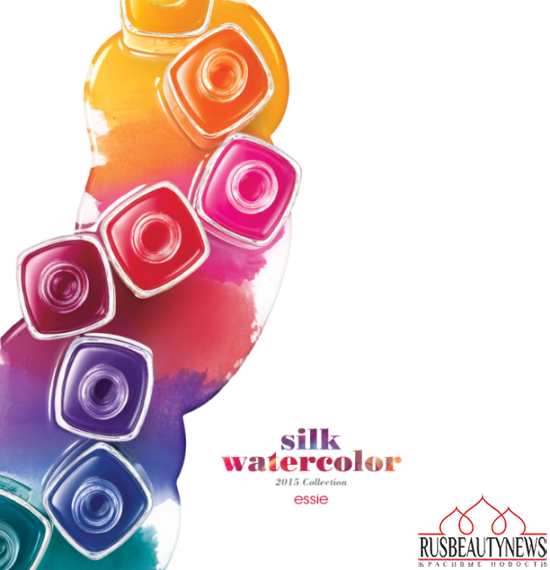 Essie Silk Watercolor Summer 2015 Collection look1