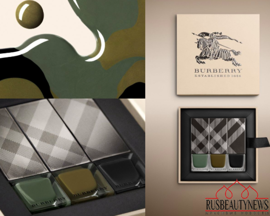 Burberry Beauty Fall:Winter 2015 Collection nail