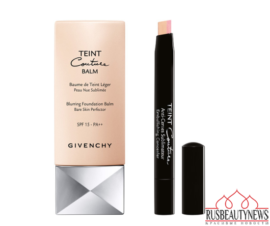 Givenchy Teint Couture Balm and Teint Couture Concealer