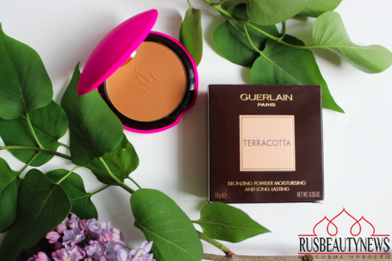 Guerlain Terracotta Summer Bronzing Powder 03 Naturelle Brunettes look1