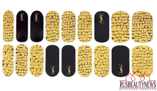 YSL Rebel Metal Fall 2015 Collection nail