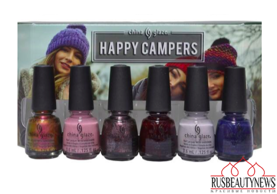 China Glaze The Great Outdoors Collection Fall 2015  set1