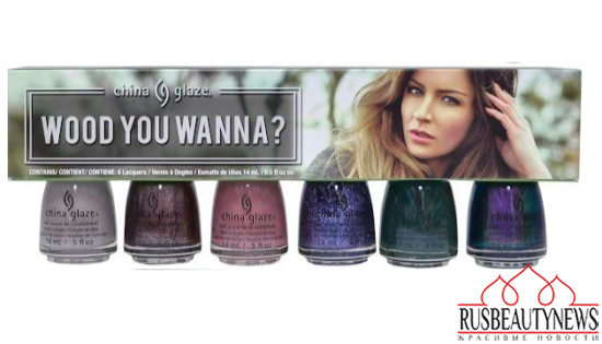 China Glaze The Great Outdoors Collection Fall 2015 set2