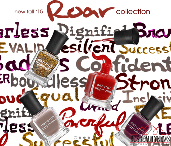 Deborah Lippmann Fall 2015 Roar Collection