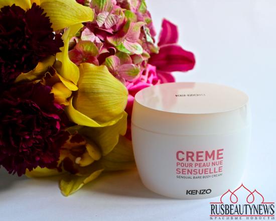 Kenzoki Crème pour Peau Nue Sensuelle
