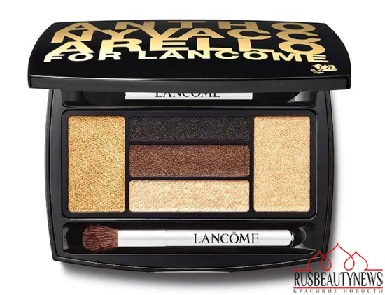 Lancome Anthony Vaccarello Fall 2015 Collection palette2