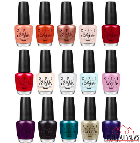 OPI Venice Collection Fall : Winter 2015 nail colors