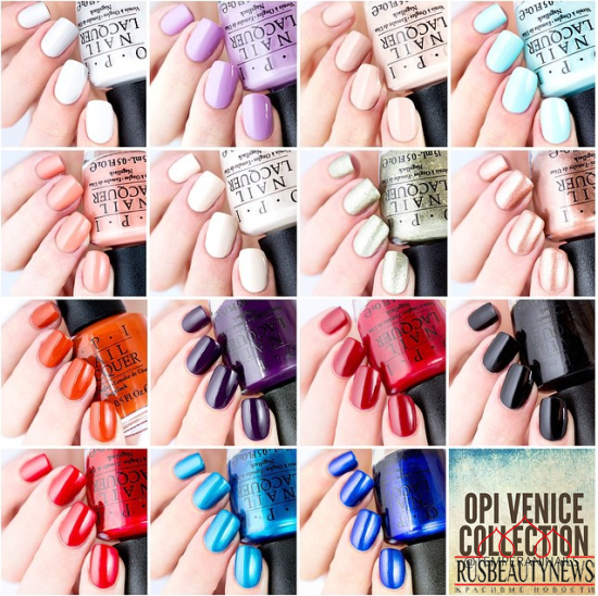 OPI Venice Collection Fall : Winter 2015 sw1