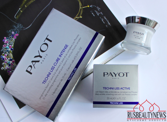 PAYOT Techni Liss Cure Intense and Techni Liss Active