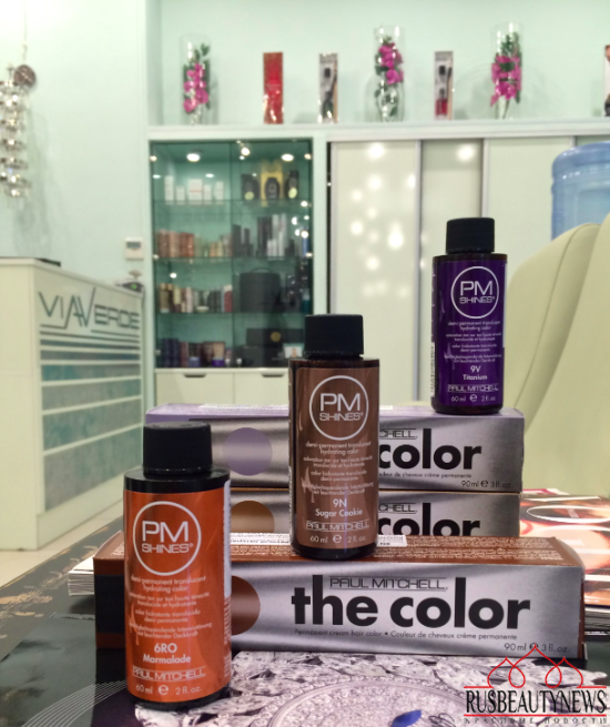 Paul Mitchell - my hair coloring experience look2