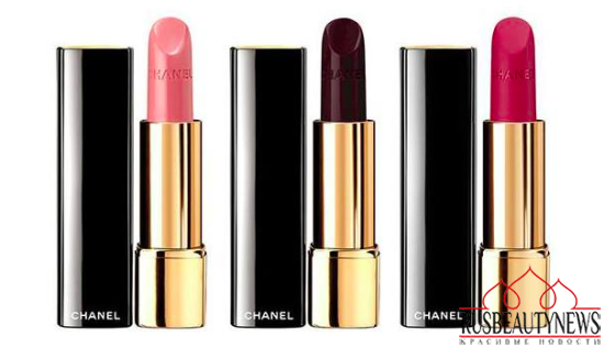 Chanel Rouge Noir Holiday 2015 Collection lipp